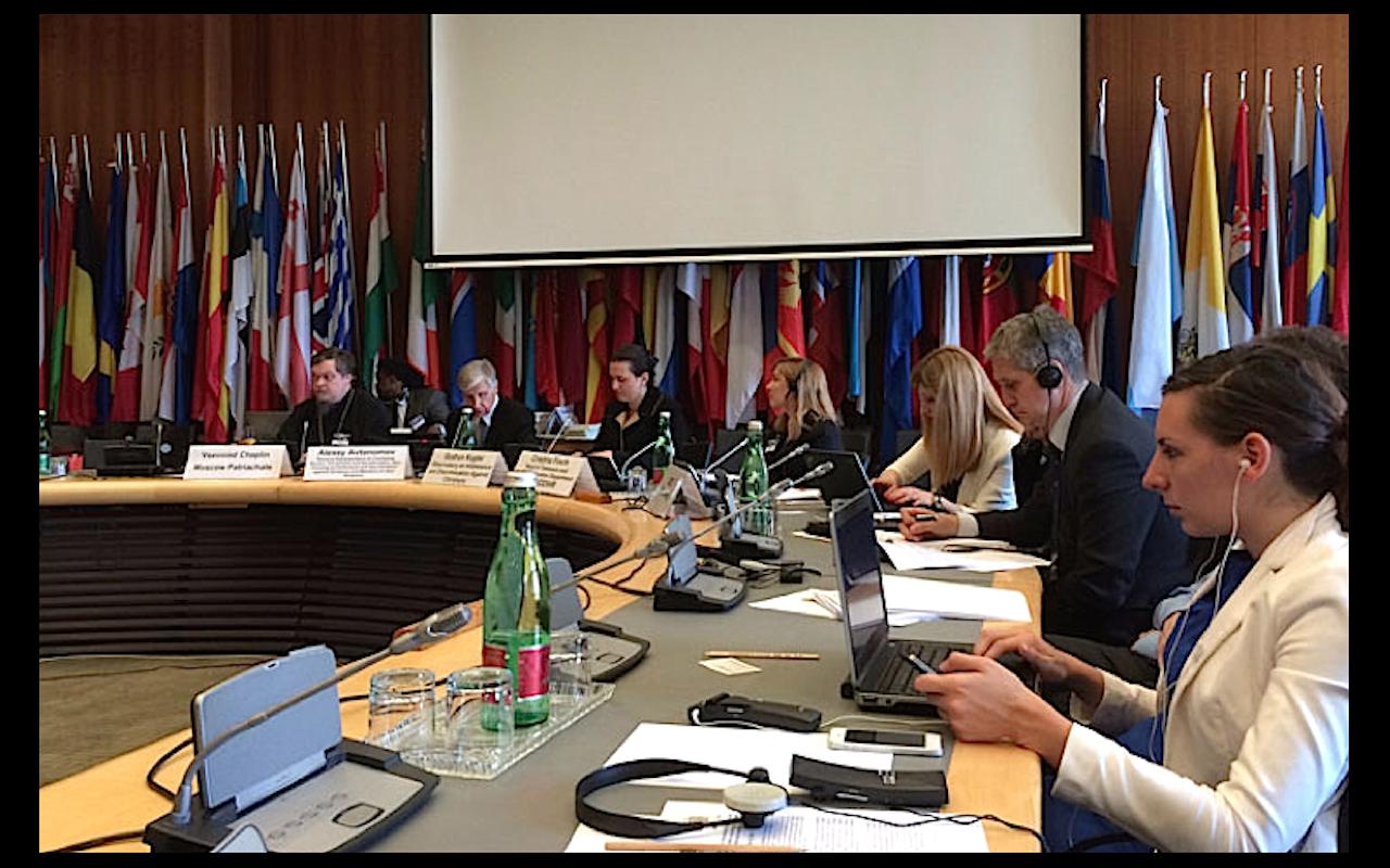Conférence de l'OSCE à Vienne @ OSCE press office