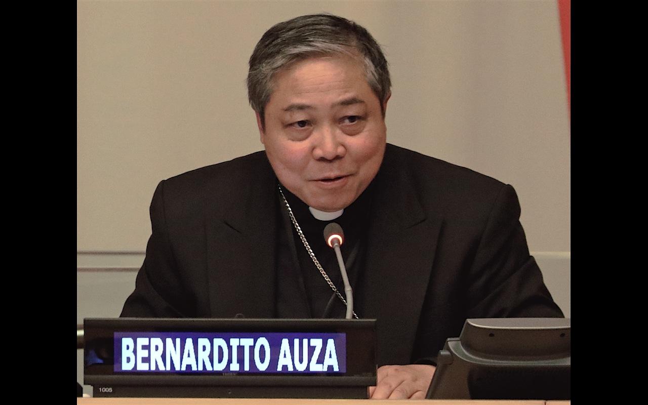 Mgr Bernardito Auza, capture