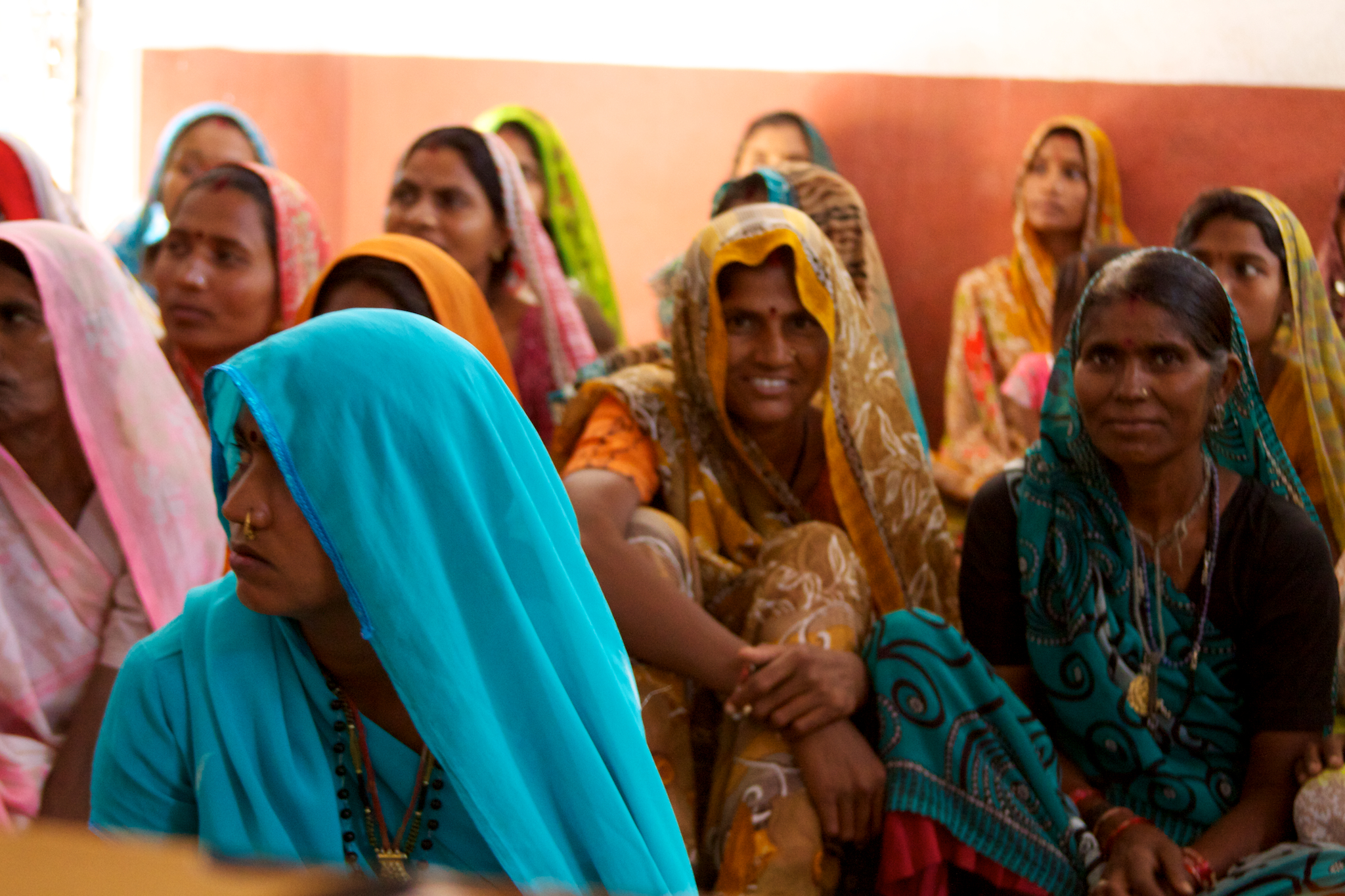 Femmes indiennes, @ WIKIMEDIA COMMONS - McKay Savage