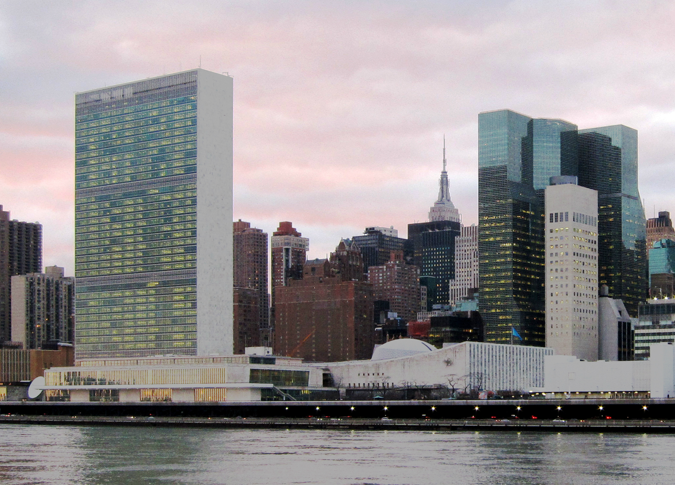 Siège de l'ONU à New-York (Etats-Unis) WIKIMEDIA COMMONS - Neptuul