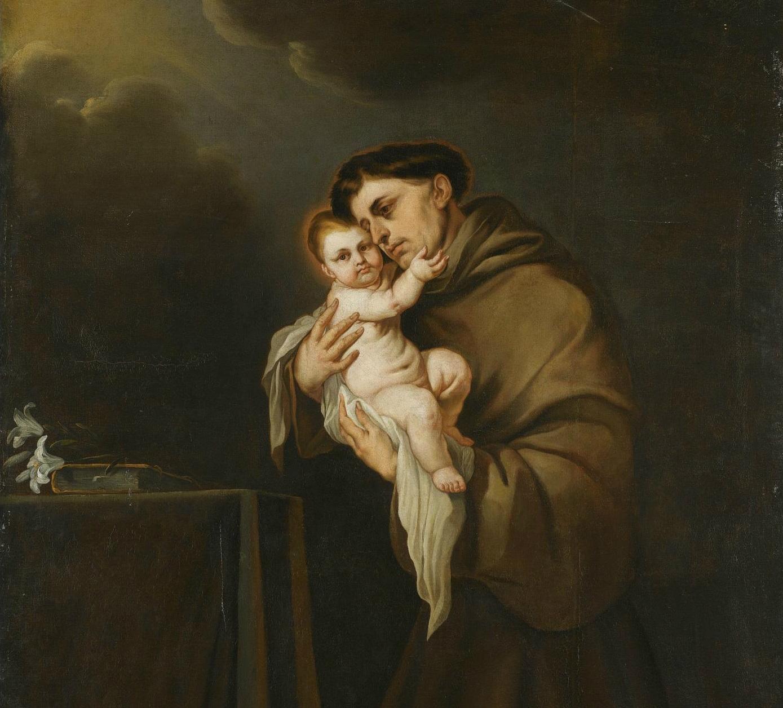 Saint Anthony of Padua with the Christ Child