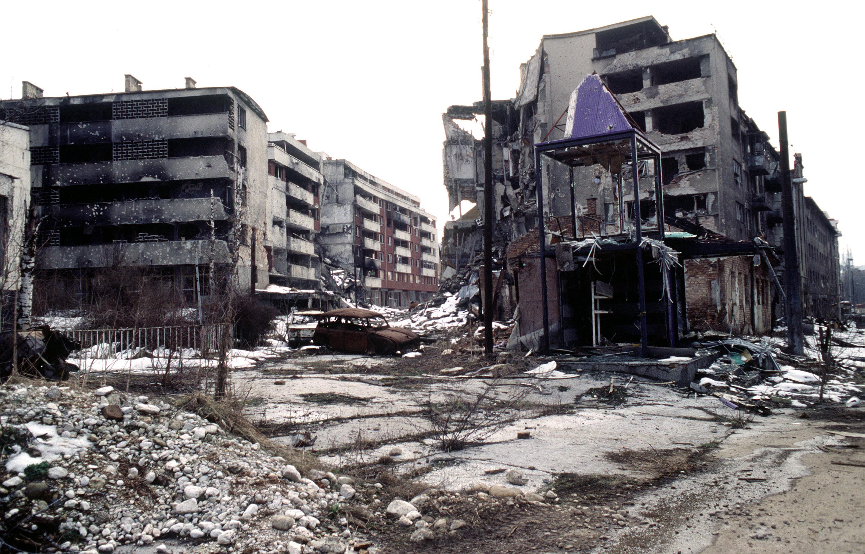 Sarajevo au temps de la guerre WIKIMEDIA COMMONS - Lt. Stacey Wyzkowski