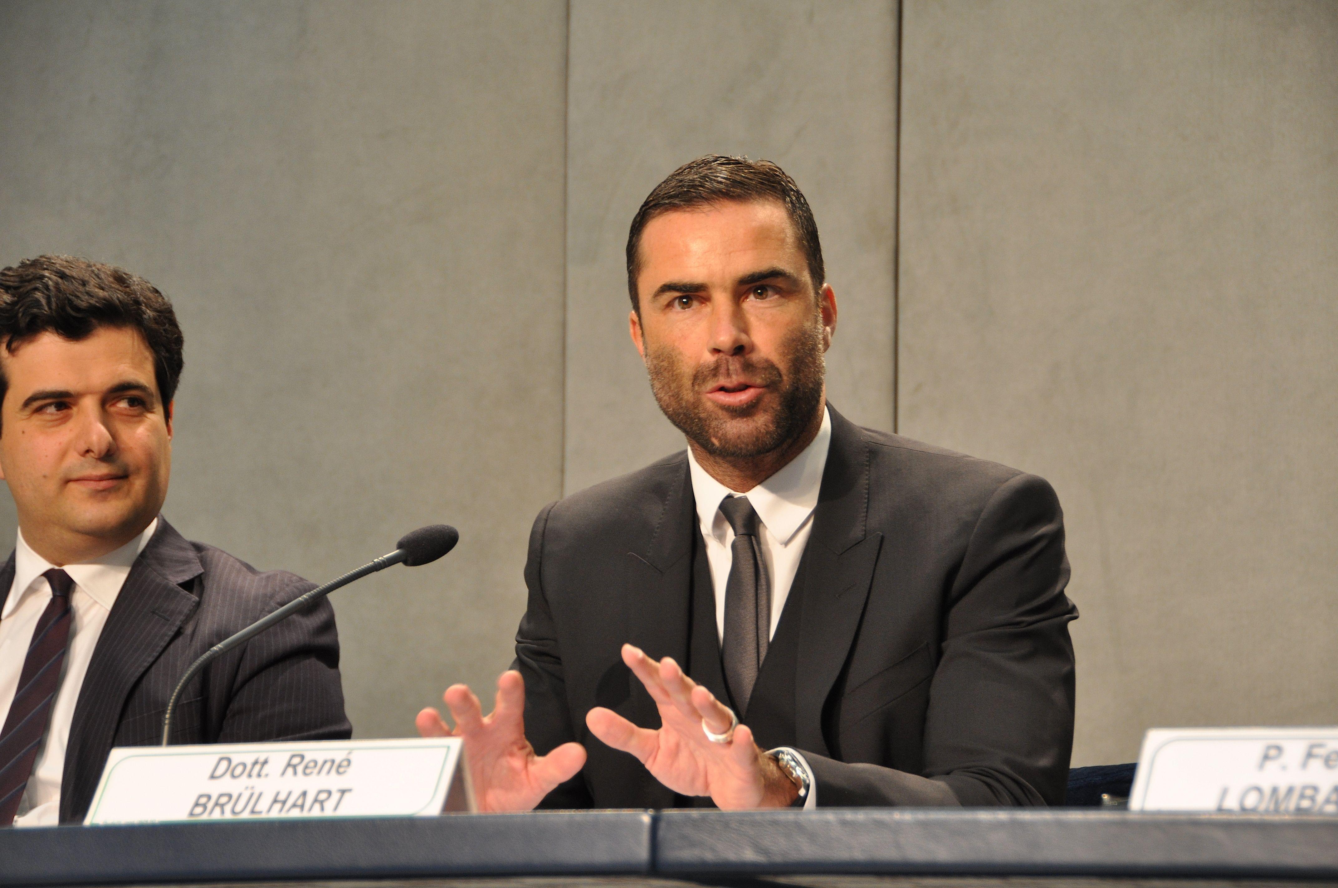 René Brulhart président de l'AIF (c) ZENIT / HSM