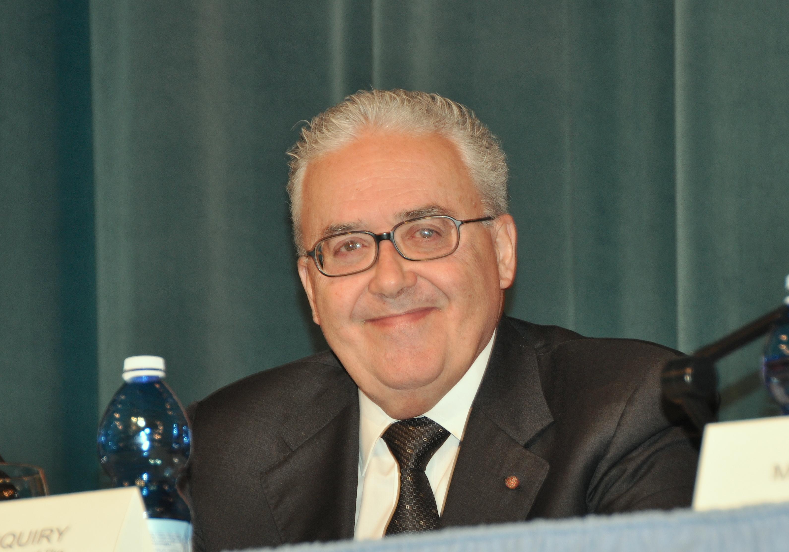 The secretary of Pontifical Commission of America Latina Guzman Carriquiry