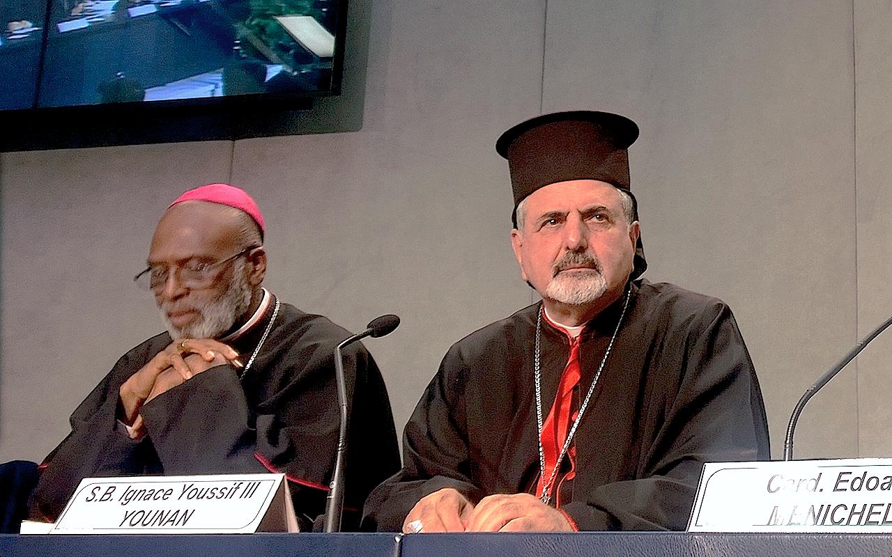 Mgr Ignace Youssef III Younan © ZENIT - HSM