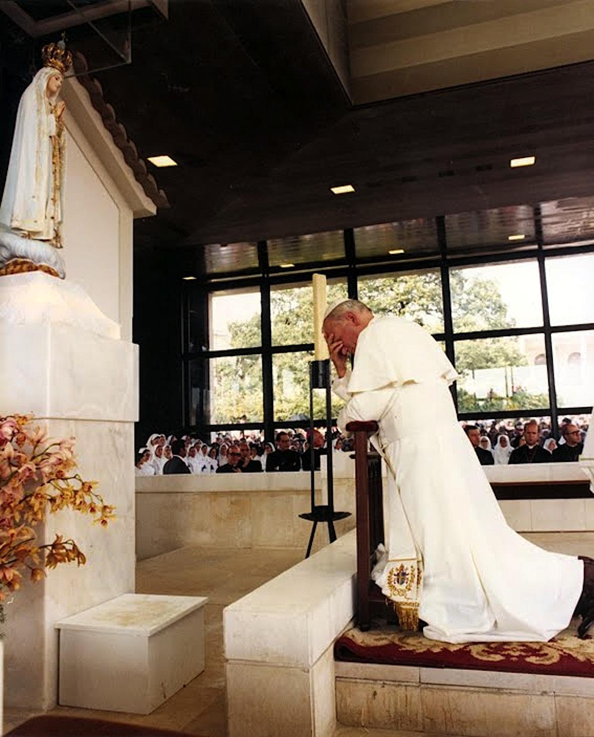 Jean-Paul II à Fatima (Portugal)