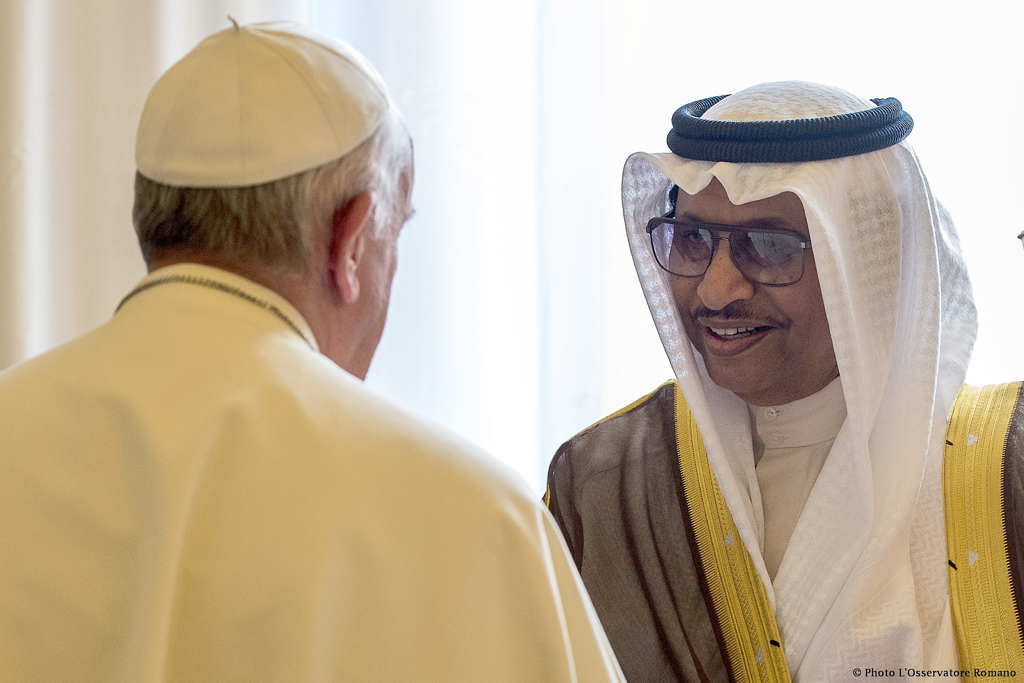 Pope Francis received in audience Sheik Jaber Mubarak Al-Hamad Al-Sabah