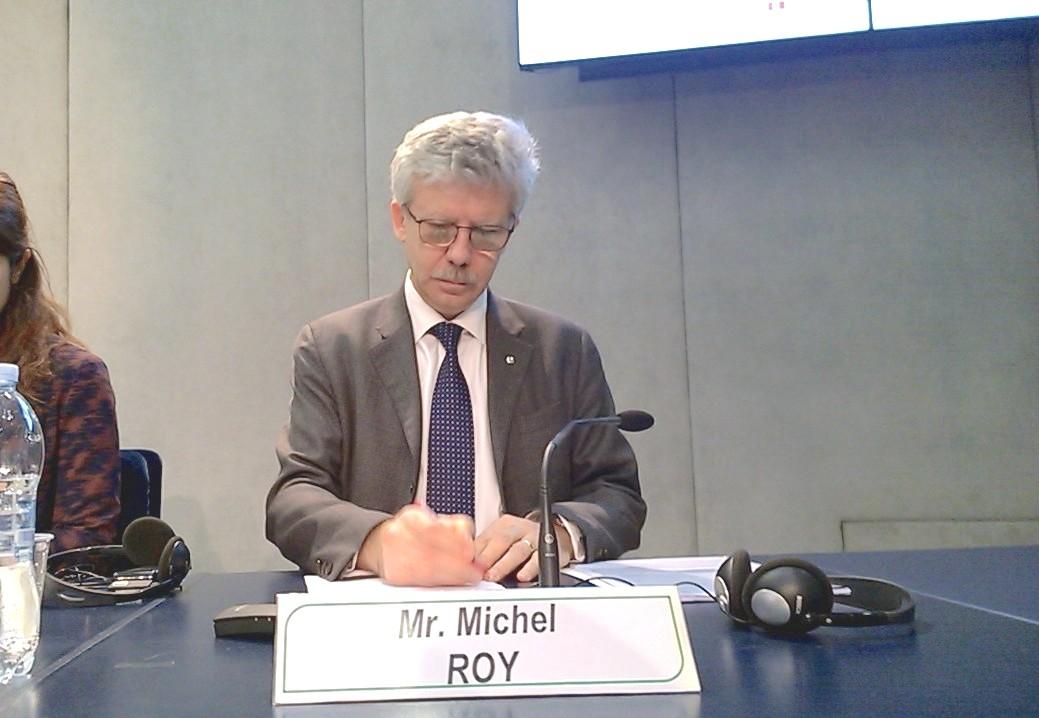 Michel Roy, ZENIT © HSM