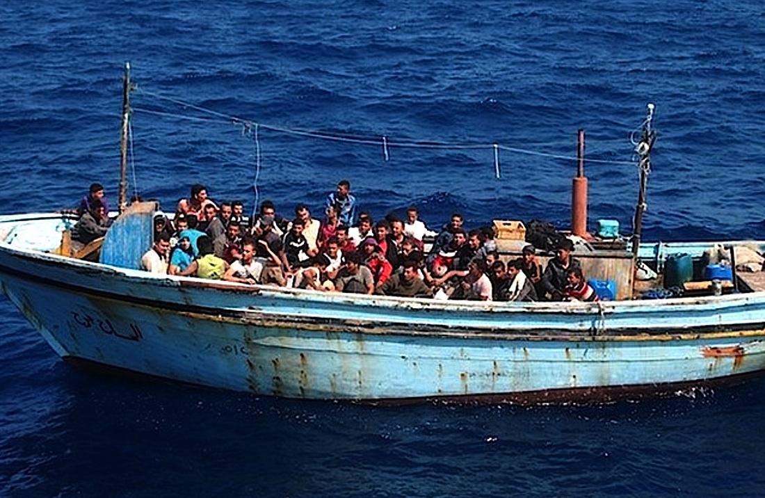 Migrants africains en méditerranée - Wikimedia - courtoisie de la Guardia di Finanza
