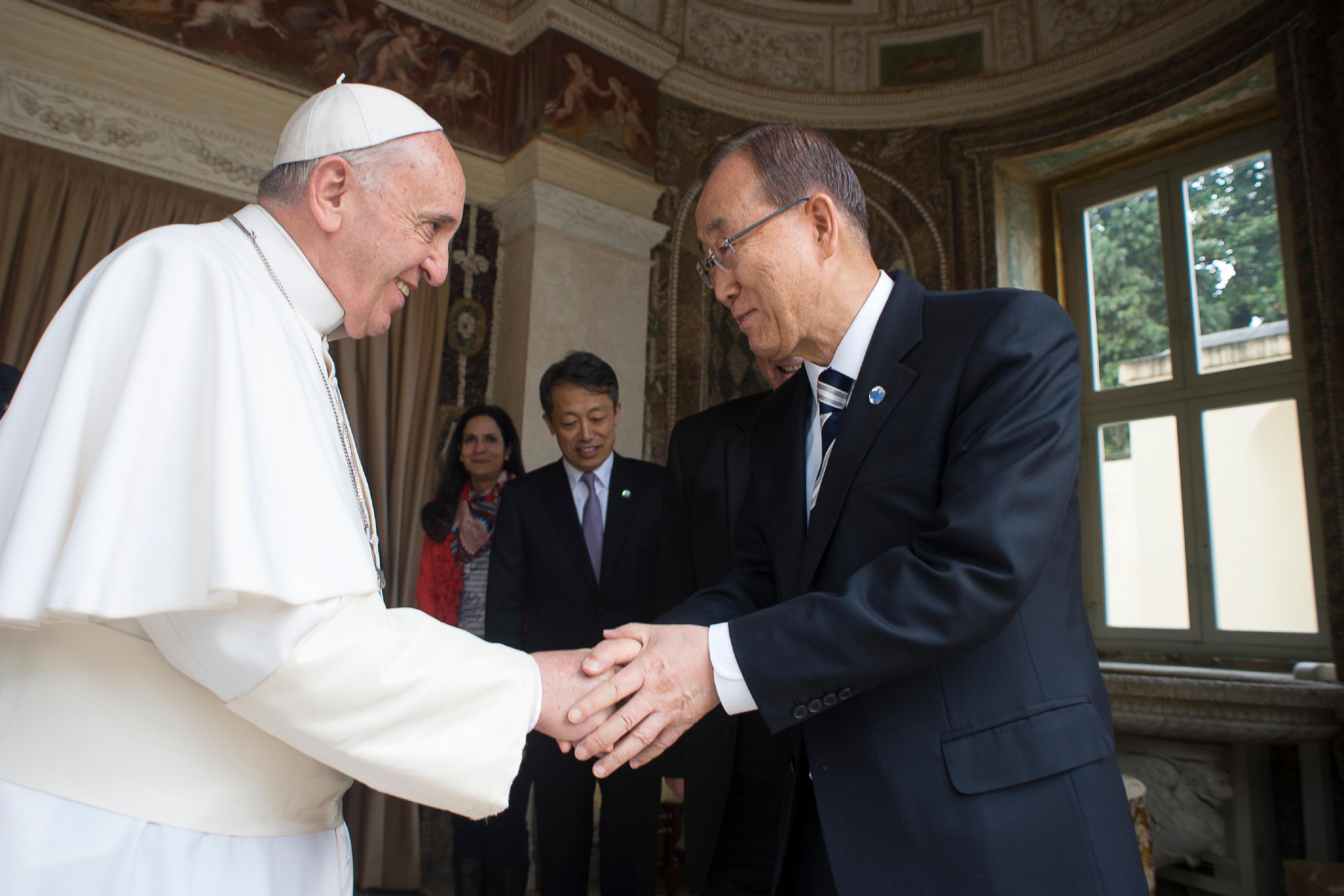 Ban Ki-Moon, ONU @ L'Osservatore Romano