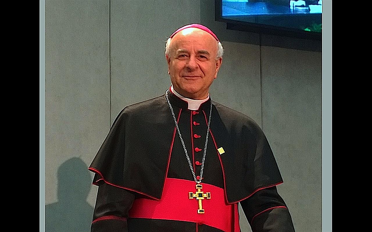 Mgr Vincenzo Paglia (c) ZENIT - HSM