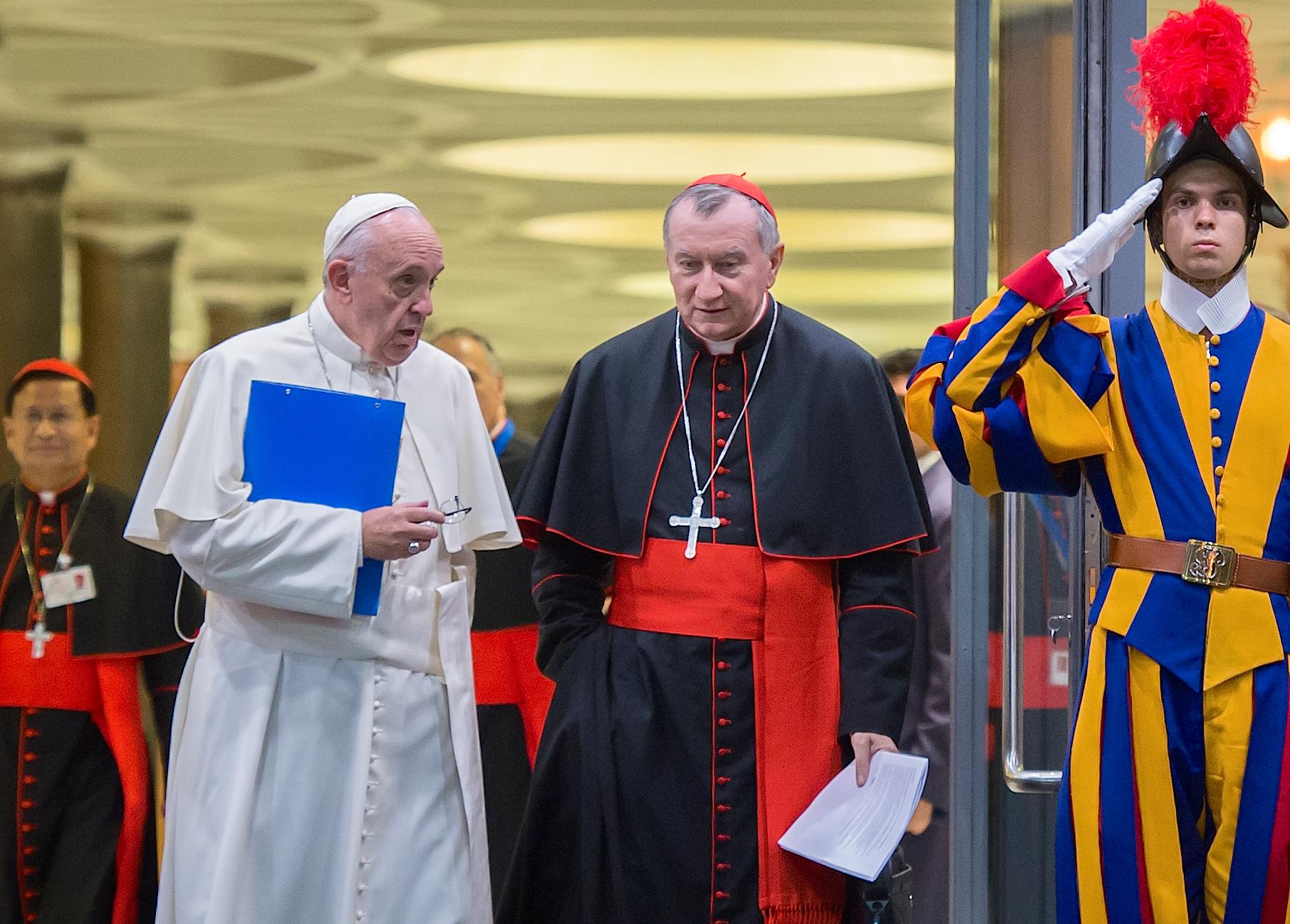 Cardinal Parolin, synode sur la famille, octobre 2015