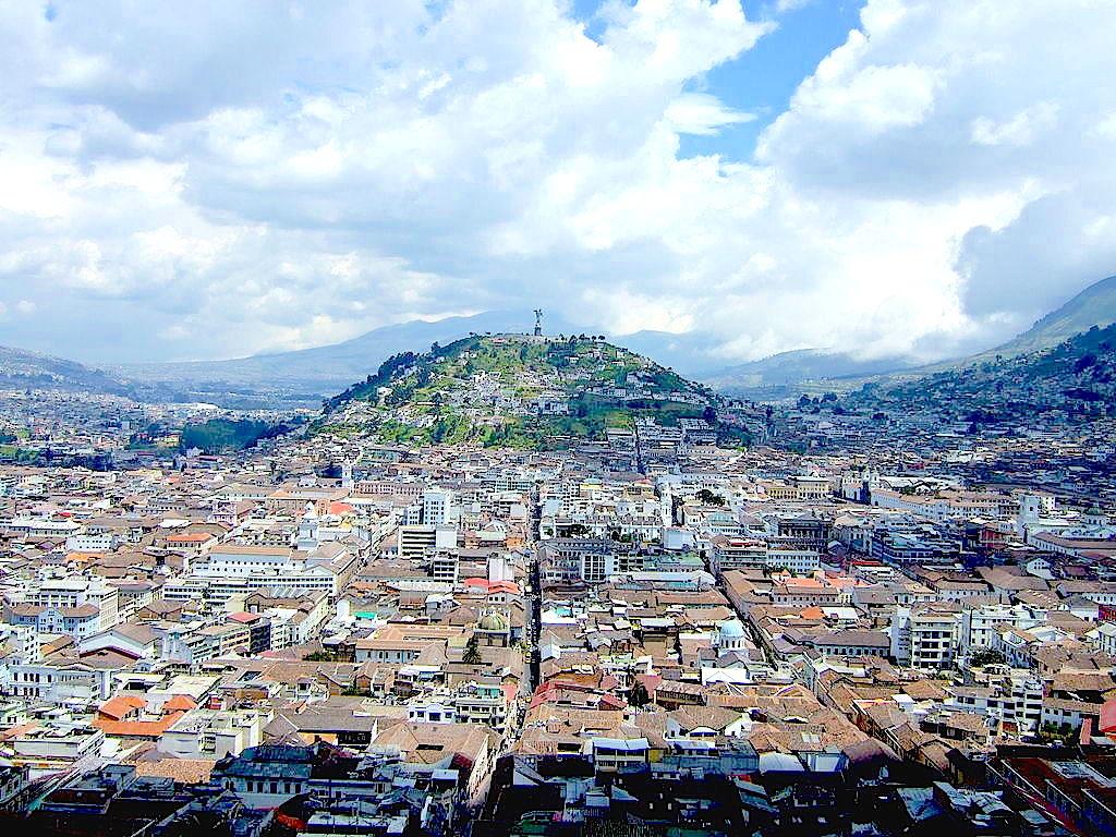 Ville de Quito, Equateur © Wikimedia commons