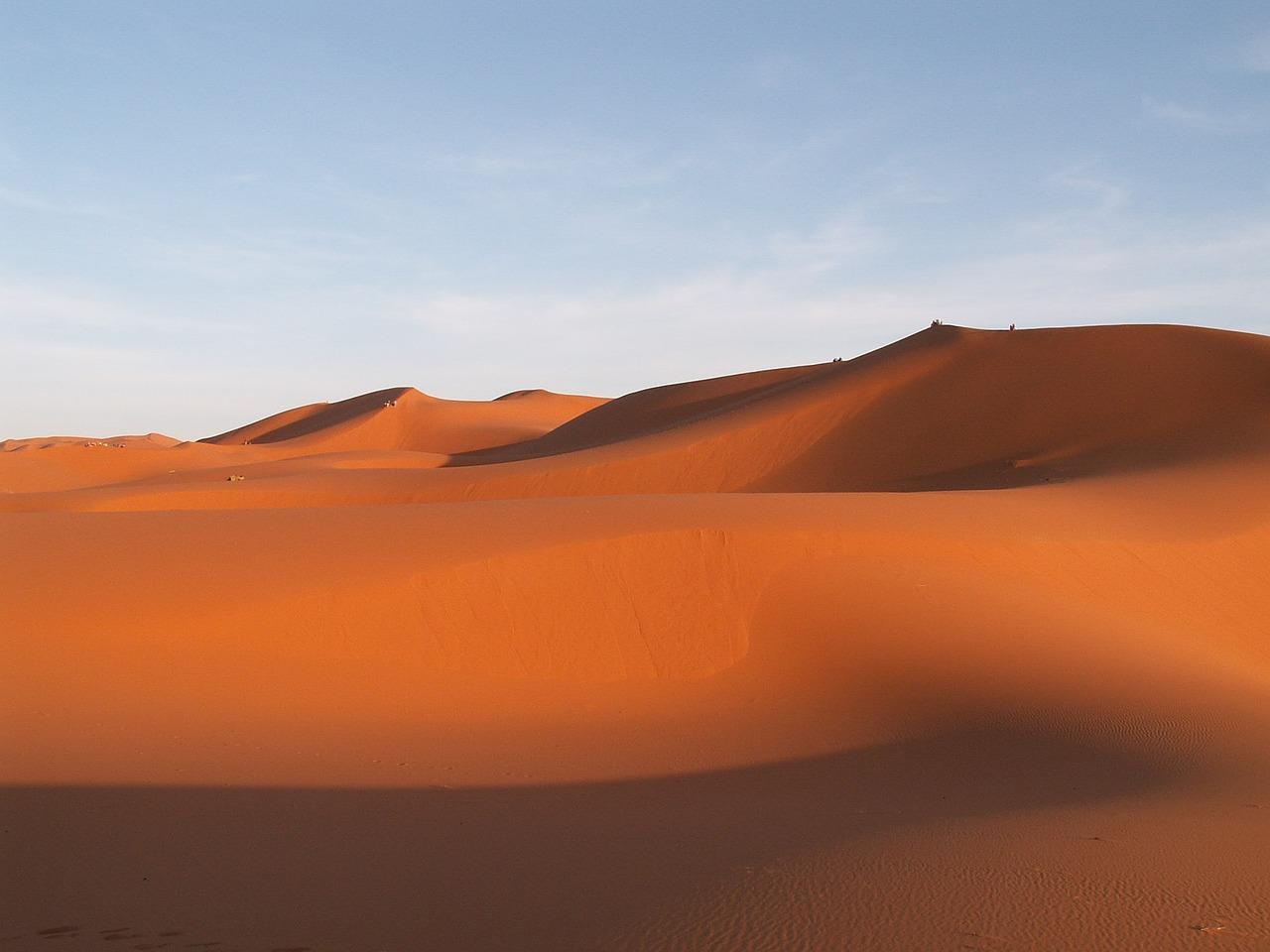 Dunes dans le désert @ Pixabay CC0 - TTS_Adliswil