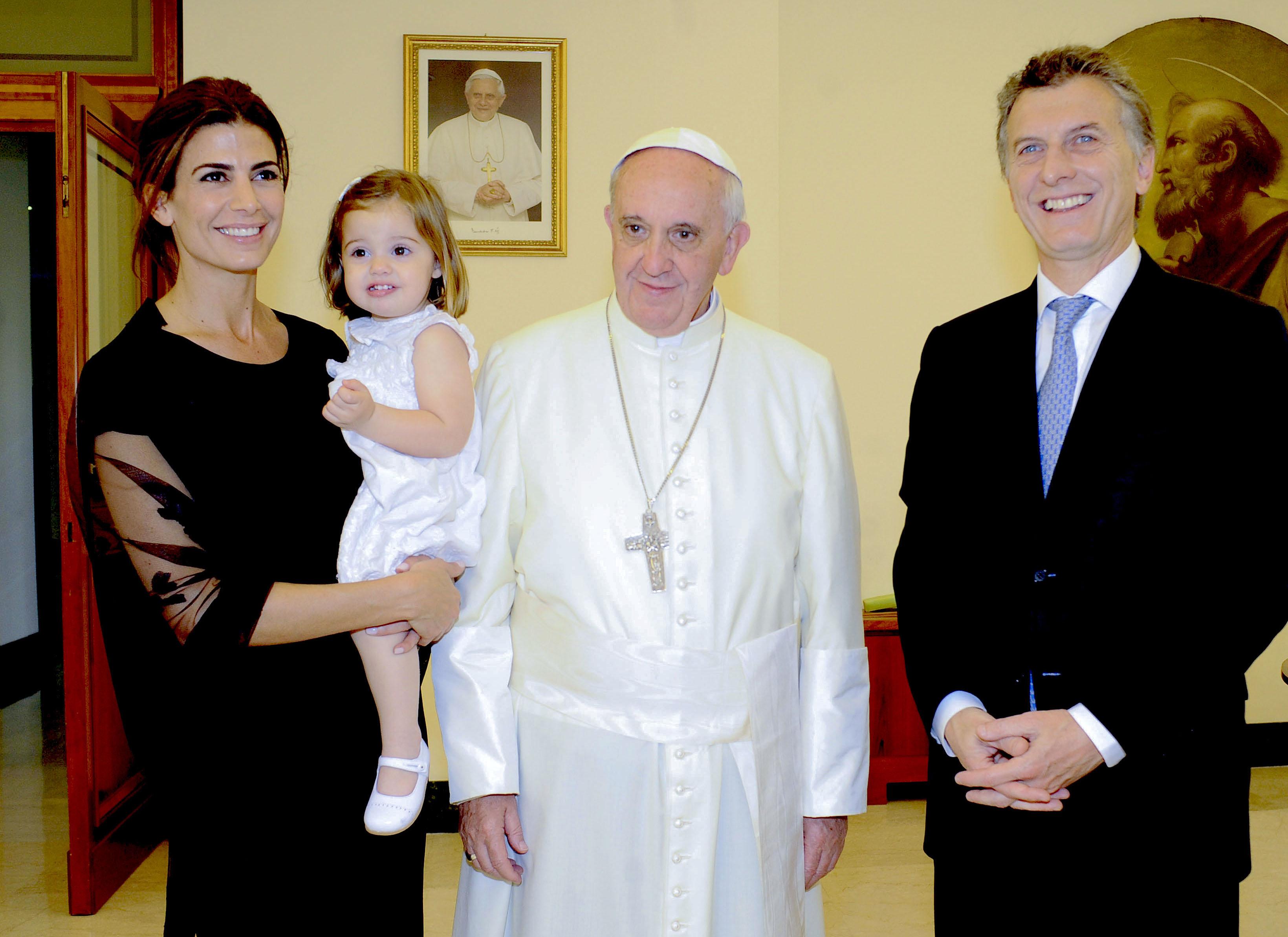 Visite du président Macri au Vatican © Telam