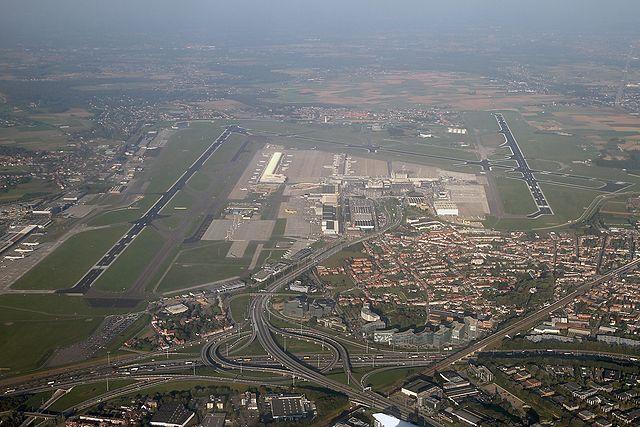 Aéroport de Zaventem (Belgique), wikimedia commons