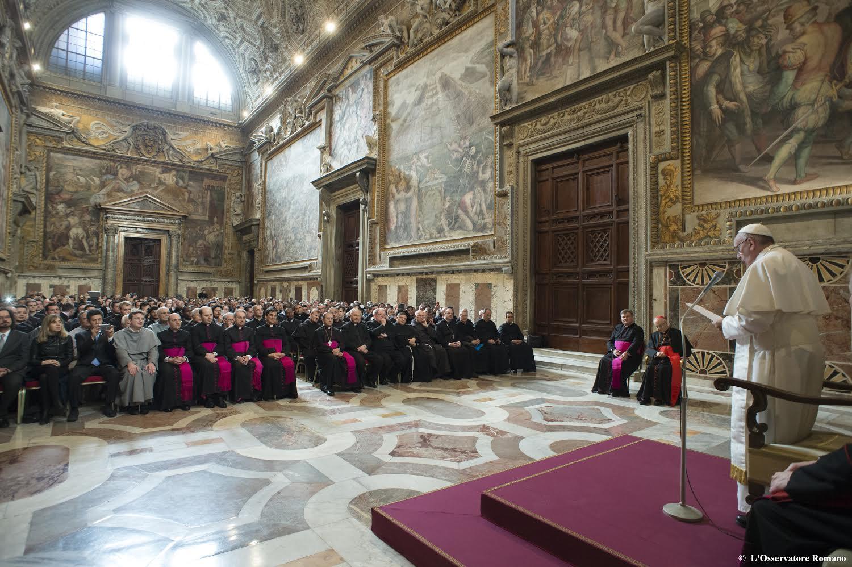 Audience aux confesseurs, 4 mars 2016 - L'Osservatore Romano