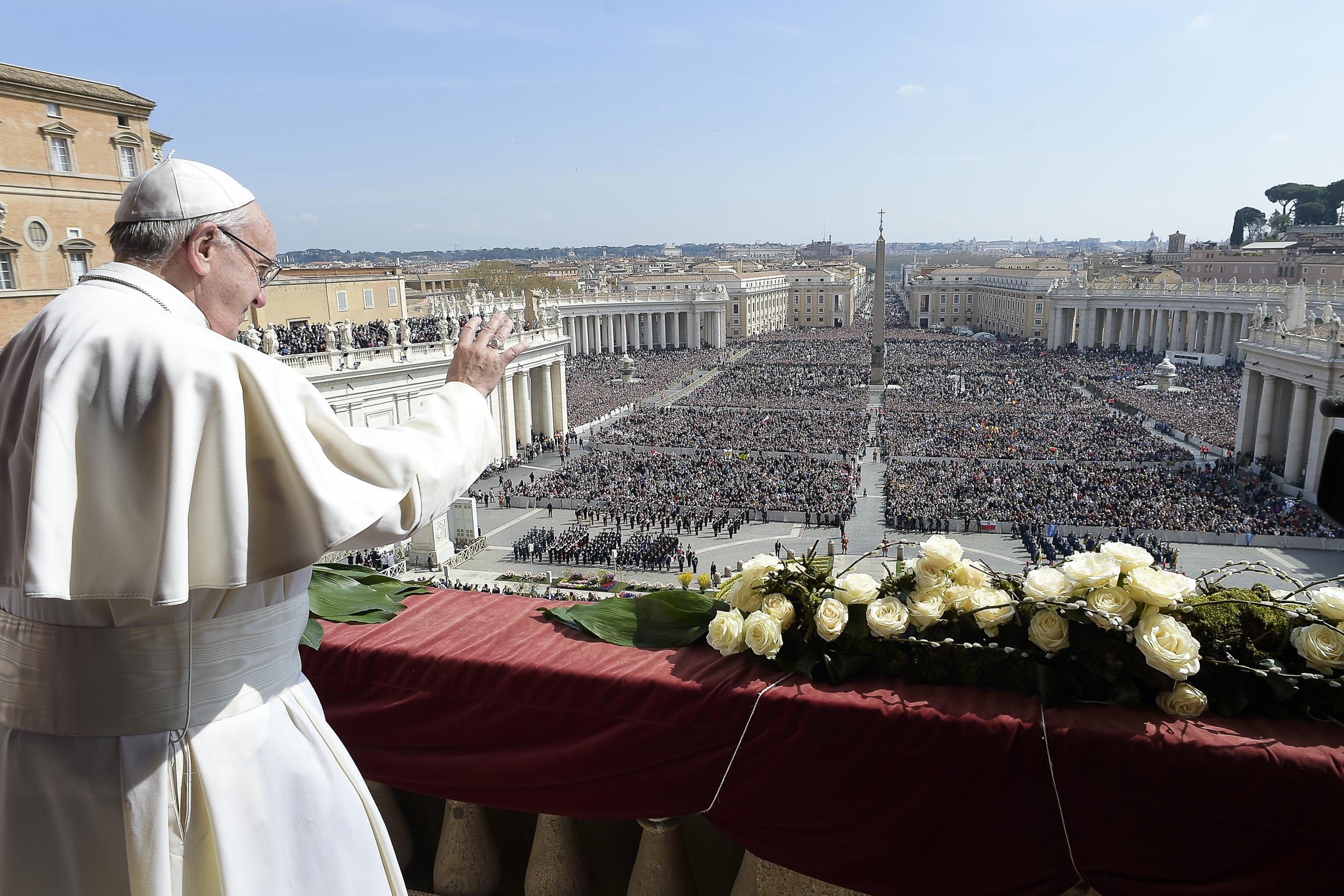 Bénédiction urbi et orbi, Pâques 2016 © L'Osservatore Romano