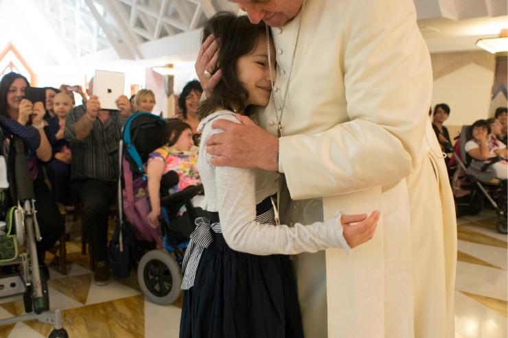 Le pape des enfants © L'Osservatore Romano