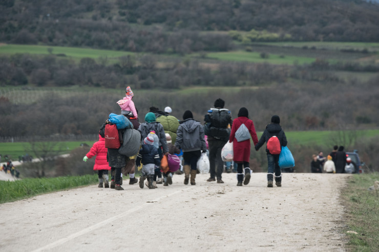 Réfugiés en Grèce, à̀ Idomeni, Gabriele Casini © Save the Children