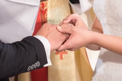 Mariage, échange des consentements et des alliances