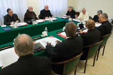 Réunion du C9 avec le pape François, L'Osservatore Romano