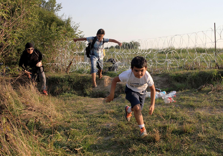 Migrants, Croatie, 2015 - Courtoisie du RJS