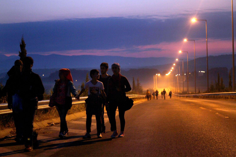 Migrants, Croatie, 2015 - Courtoisie du JRS