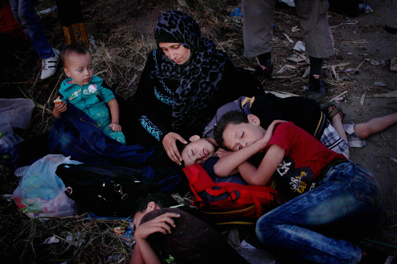 Migrants, Croatie, 2015 - Courtoisie JRS