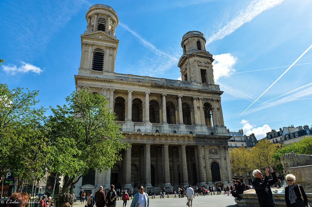 """Eglise Saint Sulpice (Paris), courtoisie de """"Pour la miséricorde divine"""""""