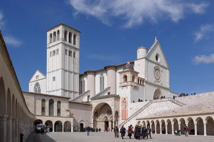 Assise, basilique Saint-François - WIKIMEDIA COMMONS