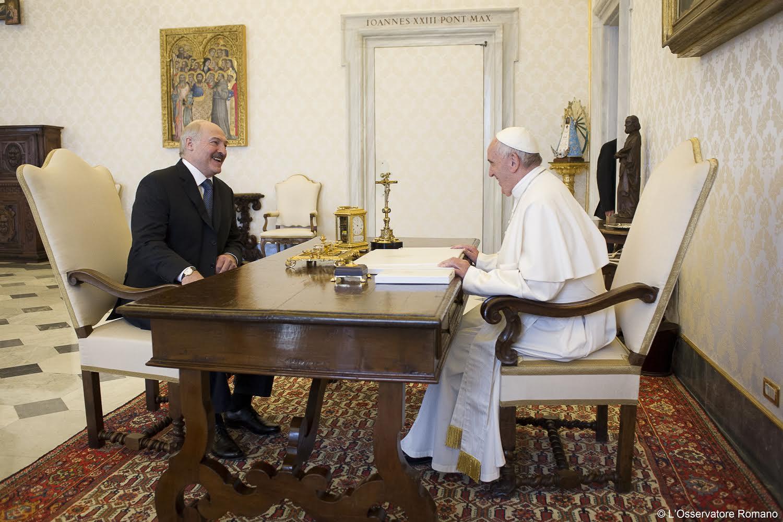 Visite du président biélorusse Loukachenko, 21 mai 2016, L'Osservatore Romano