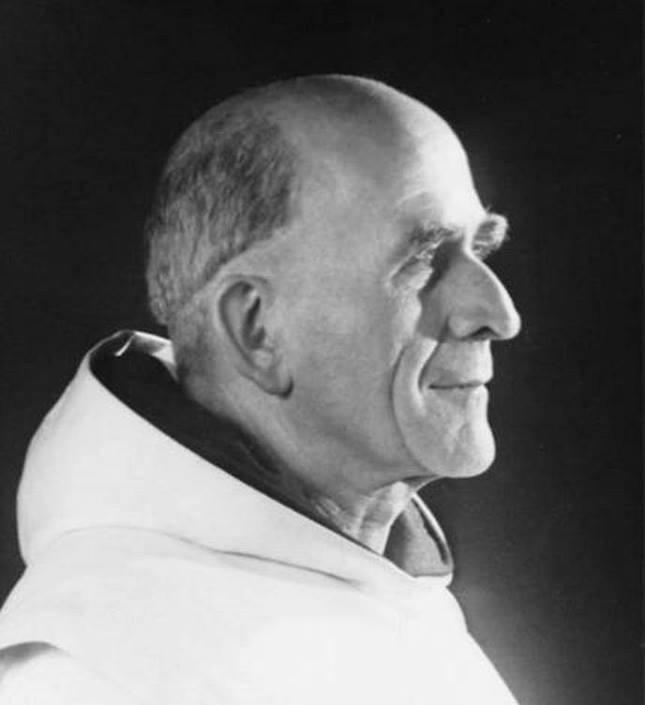 Père Marie-Eugène, ocd, photo Detaille @ Association de l'Olivier - Venasque