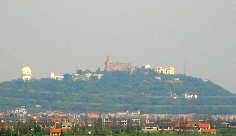 Sanctuaire Notre-Dame de Sheshan, Shanghai (Chine Populaire), Wikimedia Commons