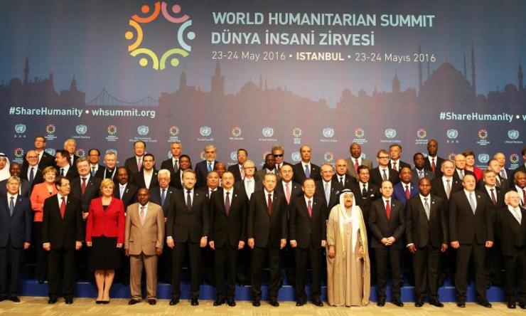 Ouverture du sommet d'Istanbul @ONU_worldhumanitariansummit.org