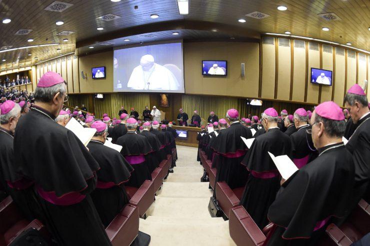Discours du pape, Conférence épiscopale italienne