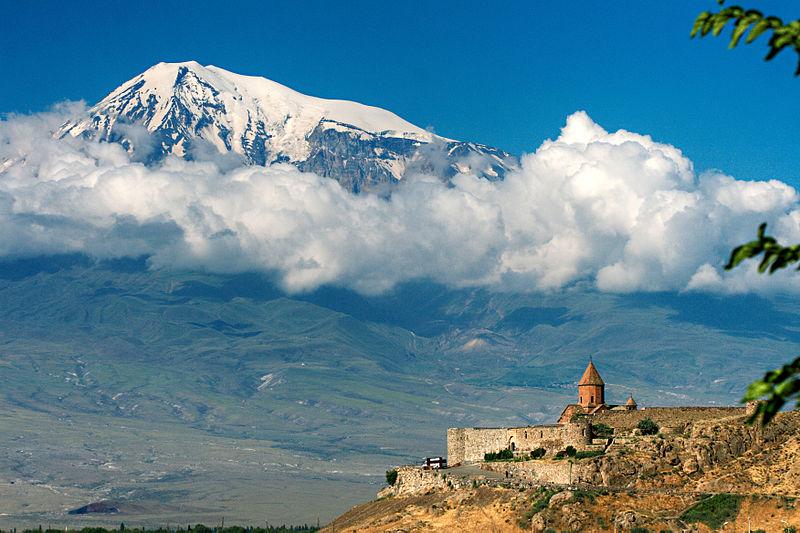 Kohr Virap (Arménie) wikimedia commons (MrAndrew47)