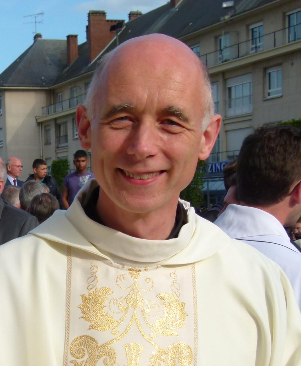 Mgr Sylvain Bataille, courtoisie du diocèse de Saint-Etienne