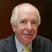 M. Domingo Sugranyes Bickel, président de la Fondation Centesimus Annus