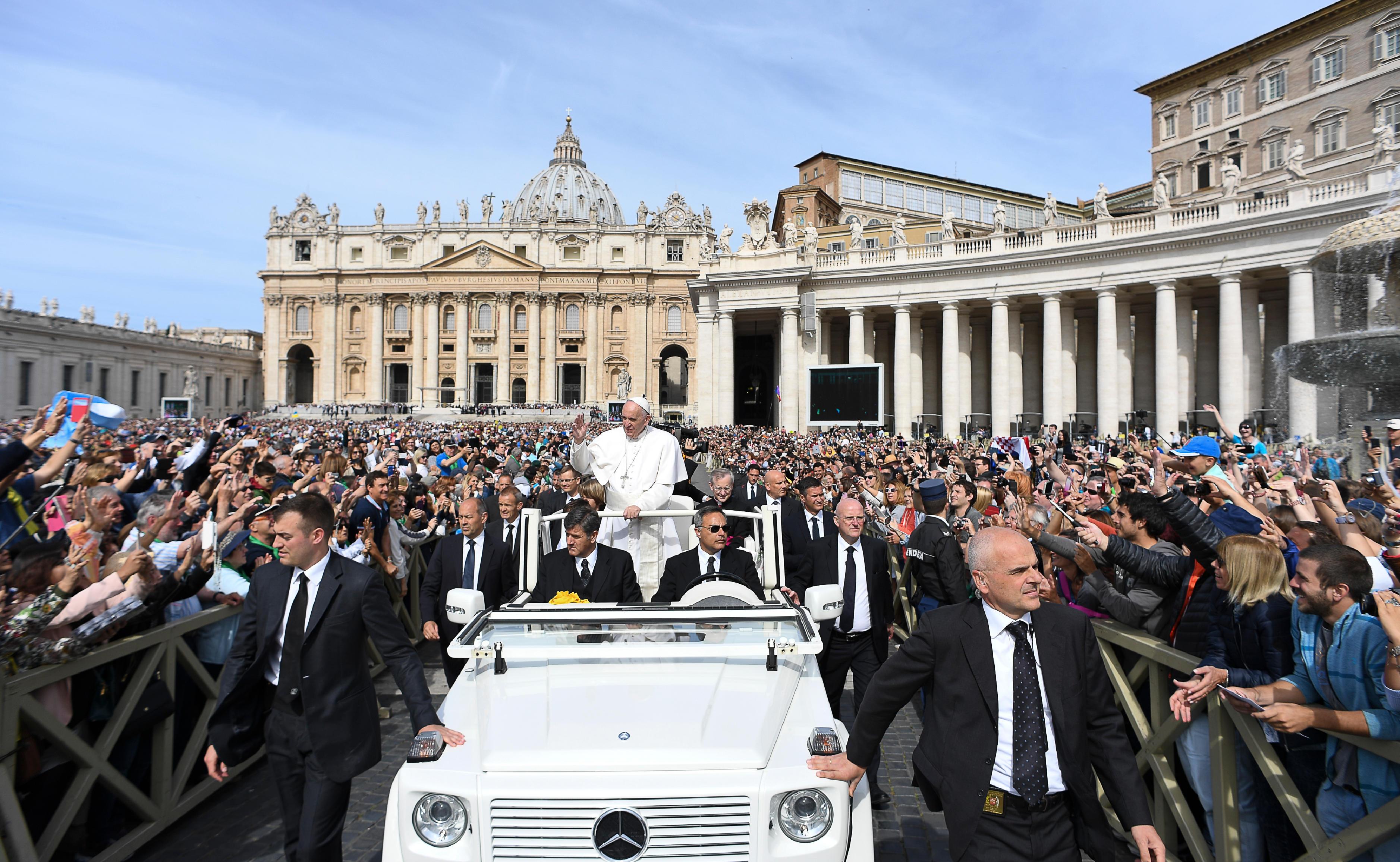 Audience du 25 mai 2016, L'Osservatore Romano
