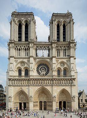 Notre_Dame_de_Paris © Creative commons, Peter Haas