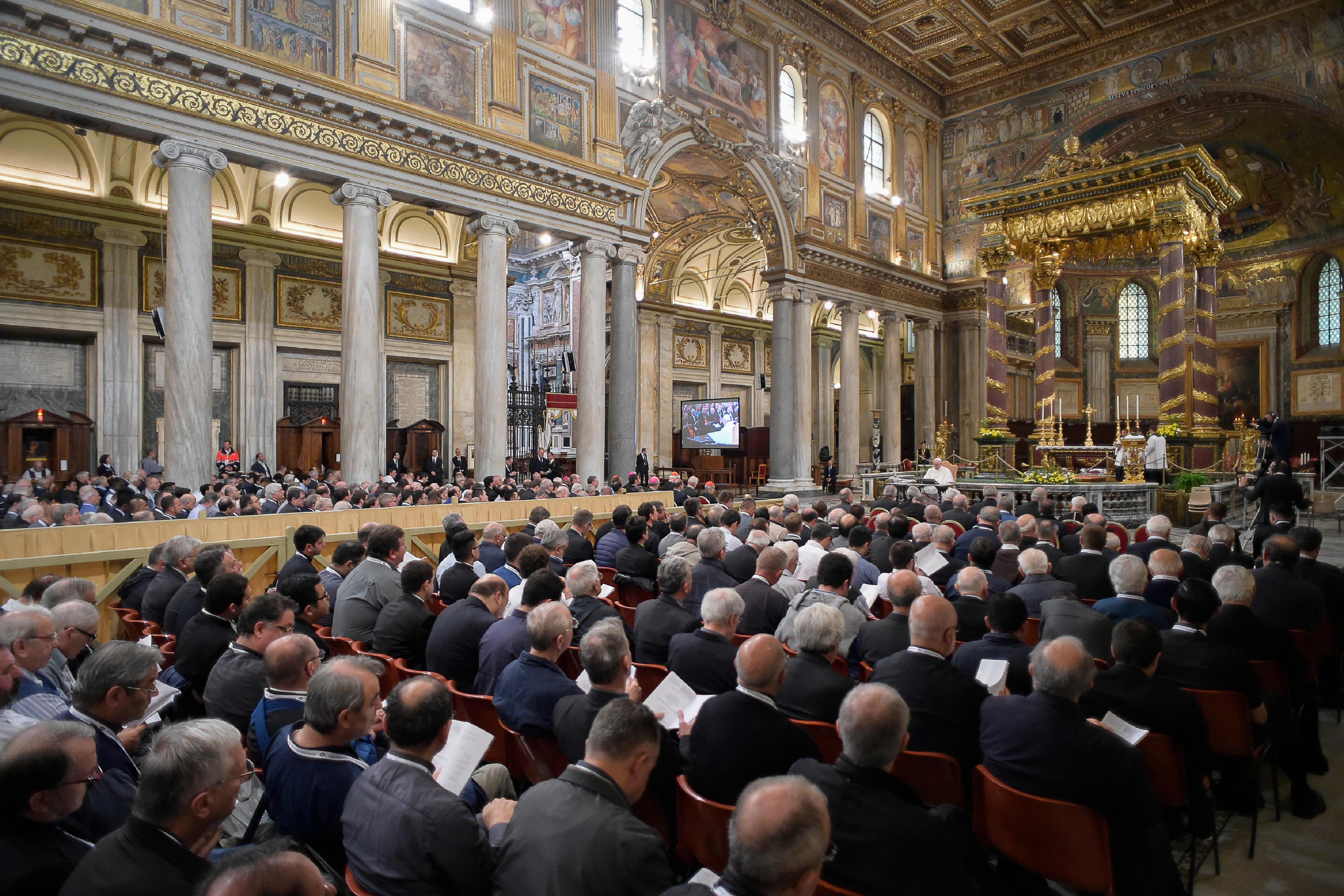 Jubilé des prêtres, 2e méditation, Sainte-Marie-Majeure, 2 juin 2016, L'Osservatore Romano