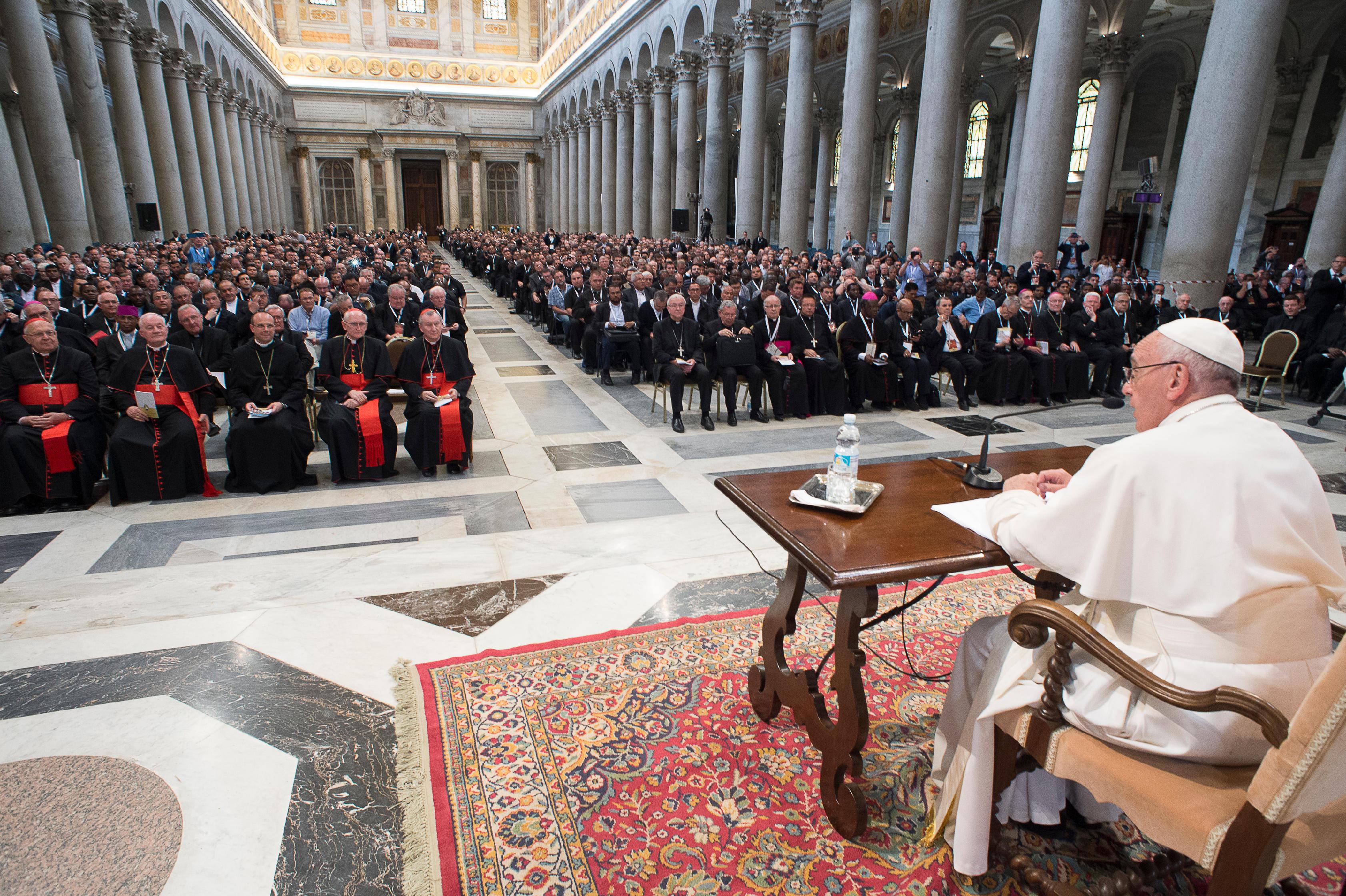 Jubilé des prêtres, 3e méditation, Saint-Paul-hors-les-Murs, 2 juin 2016, L'Osservatore Romano