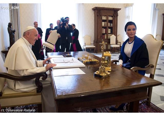Fondation du Qatar, L'Osservatore Romano