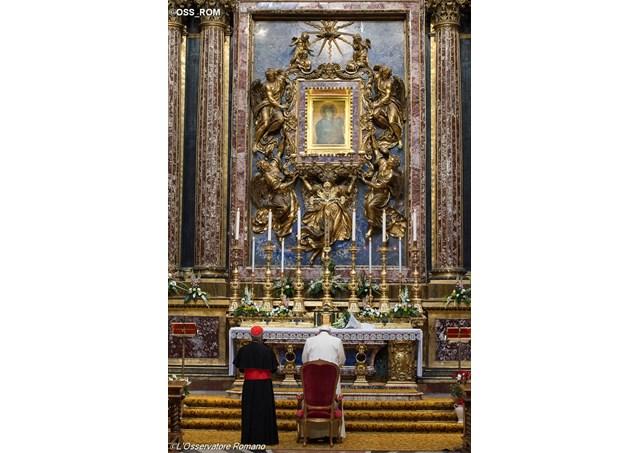 Sainte-Marie-Majeure, 23 juin 2016 © L'Osservatore Romano