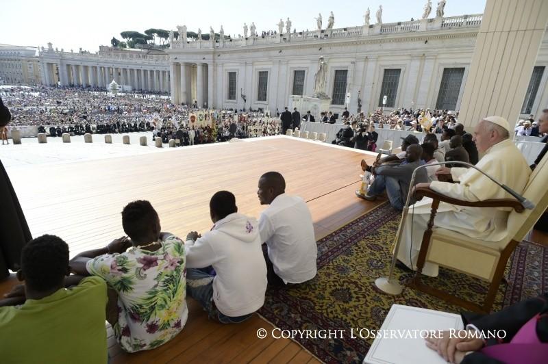 Audience du 22 juin 2016 (c) L'Osservatore Romano