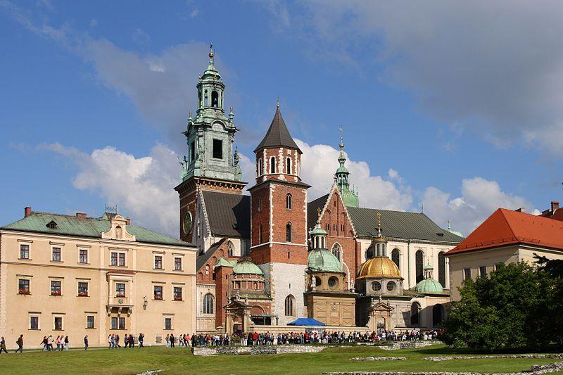 Colline du Wawel (Cracovie, Pologne) Creative commons, Lestat (Jan Mehlich)
