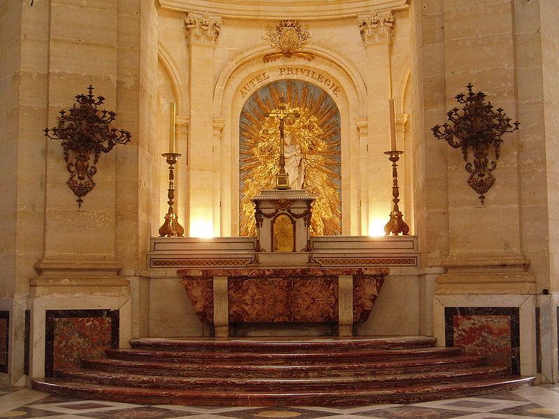 Cathédrale Saint-Louis, Versailles (France), tabernacle, Creative Commons (BenP)