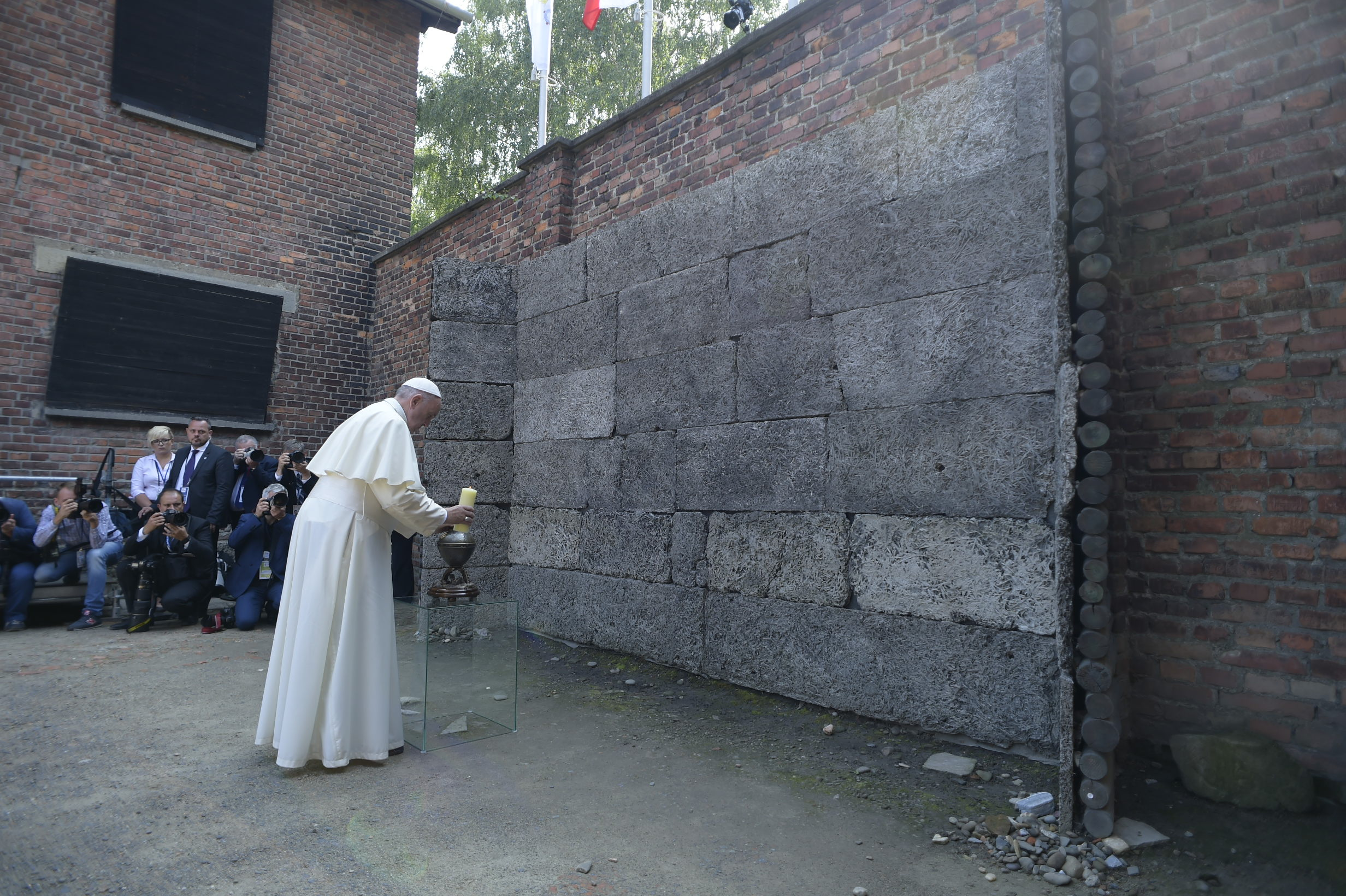 Auschwitz, pape François, Pologne © L'Osservatore Romano