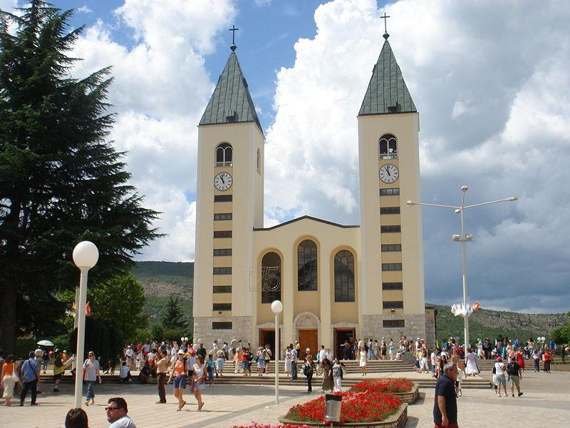 Medjugorje (Bosnie Herzégovine), église Saint-Jacques © Wikimedia commons/Mariusz Musiał
